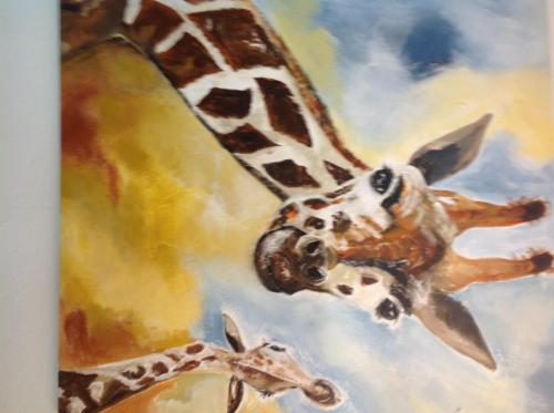 Giraffe mit Kind - Eva Seipp (1) (1) (1)